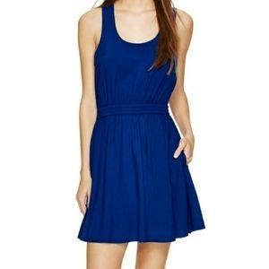 Aritzia Talula blue sleeveless mini dress